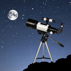 42e23dfc b767 41a1 b17f 6c9db73abb93.  CR0,0,300,300 PT0 SX300 V1    - ToyerBee Telescope for Kids& Beginners, 70mm Aperture 300mm Astronomical Refractor Telescope, Tripod& Finder Scope- Portable Travel Telescope with Smartphone Adapter and Wireless Remote