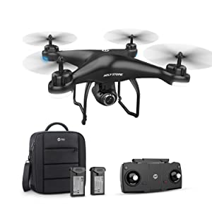 4e72fd42 3cfd 44c5 b370 decd13638611.  CR0,0,1500,1500 PT0 SX300 V1    - Holy Stone HS120D GPS Drone with Camera for Adults 2K UHD FPV, Quadcotper with Auto Return Home, Follow Me, Altitude Hold, Tap Fly Functions, Includes 2 Batteries and Carrying Backpack