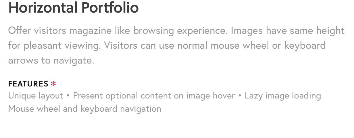 5 - Fluxus - Portfolio Theme for Photographers