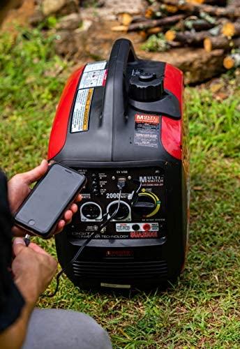 512TTxT4vtL. AC  - A-iPower SUA2000iV 2000 Watt Portable Inverter Generator Quiet Operation, RV Ready