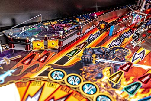 515Kiqb4rYL. AC  - Stern Pinball Black Knight: Sword of Rage Arcade Pinbal Machine, Premium Edition