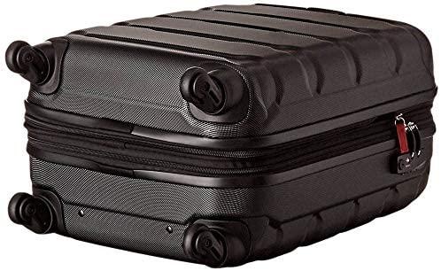5162Fnqt3GL. AC  - Samsonite Omni PC Hardside Expandable Luggage with Spinner Wheels, Black, 2-Piece Set (20/24)
