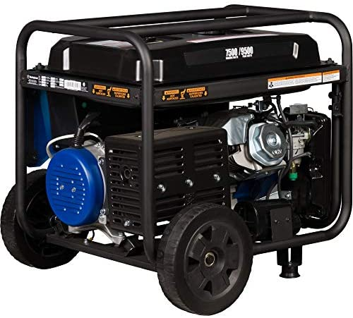 517SIRuKuwL. AC  - Westinghouse WGen7500 Portable Generator with Remote Electric Start - 7500 Rated Watts & 9500 Peak Watts - Gas Powered - CARB Compliant - Transfer Switch Ready