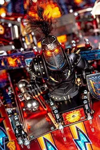 518g+aaXuSL. AC  - Stern Pinball Black Knight: Sword of Rage Arcade Pinbal Machine, Premium Edition