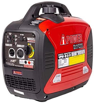 51CEY+1zSYL. AC  - A-iPower SUA2000iV 2000 Watt Portable Inverter Generator Quiet Operation, RV Ready