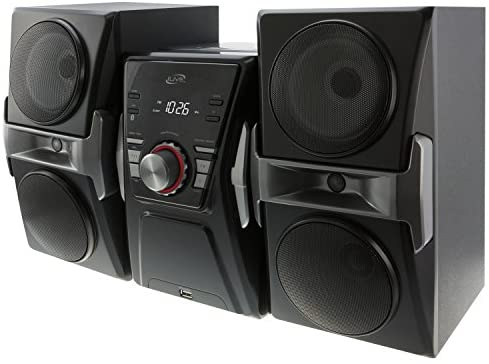 51EzT67difL. AC  - iLive IHB624B Bluetooth CD and Radio Home Music System with Color Changing Lights, Includes Remote, Black