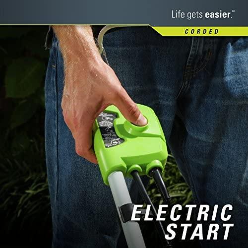 51Jf6zDGqyL. AC  - Greenworks 16-Inch 10 Amp Corded Electric Lawn Mower 25142