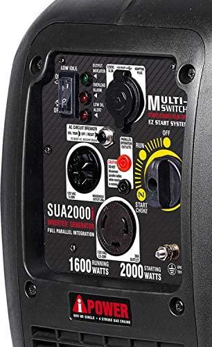 51Tr5ioeP3L. AC  - A-iPower SUA2000iV 2000 Watt Portable Inverter Generator Quiet Operation, RV Ready