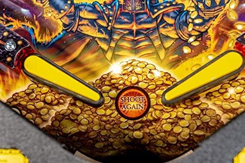 51WJP 2ORTL. AC  - Stern Pinball Black Knight: Sword of Rage Arcade Pinbal Machine, Premium Edition