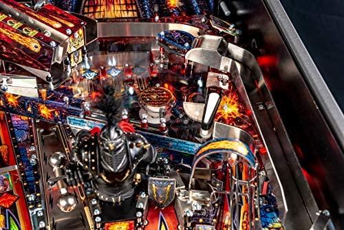 51YFRjG58XL. AC  - Stern Pinball Black Knight: Sword of Rage Arcade Pinbal Machine, Premium Edition