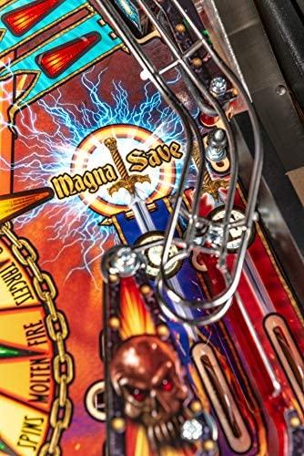 51a09Ywzw1L. AC  - Stern Pinball Black Knight: Sword of Rage Arcade Pinbal Machine, Premium Edition
