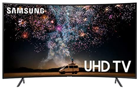 51gnTCiC1BL. AC  - Samsung UN55RU7300FXZA Curved 55-Inch 4K UHD 7 Series Ultra HD Smart TV with HDR and Alexa Compatibility (2019 Model)