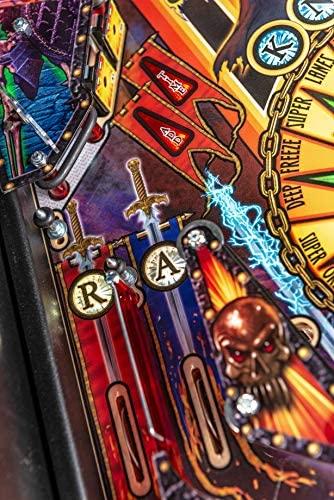 51nXJaDRJvL. AC  - Stern Pinball Black Knight: Sword of Rage Arcade Pinbal Machine, Premium Edition