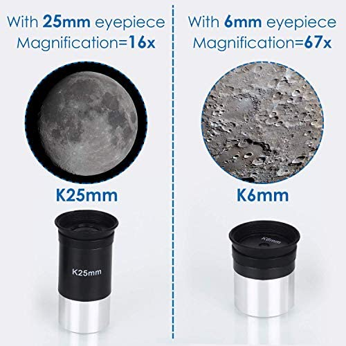 51p806hRANL. AC  - TELMU Telescope, 70mm Aperture 400mm AZ Mount Astronomical Refracting Telescope Adjustable(17.7In-35.4In) Portable Travel Telescopes with Backpack, Phone Adapter