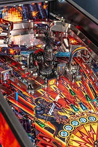 61517MAWRQL. AC  - Stern Pinball Black Knight: Sword of Rage Arcade Pinbal Machine, Premium Edition