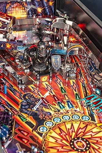 61IgB GxL8L. AC  - Stern Pinball Black Knight: Sword of Rage Arcade Pinbal Machine, Premium Edition