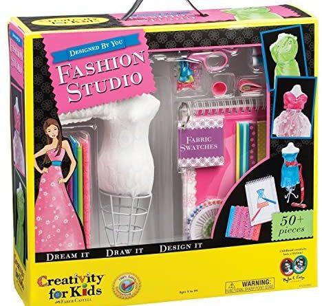 61anCq85s9L. AC  468x445 - Creativity for Kids Designed by You Fashion Studio, Fashion Design Kit For Kids