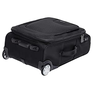 63c719fe ca0a 4f21 9122 d548f8a6b452. CR0,0,2000,2000 PT0 SX300   - AmazonBasics Upright Spinner Expandable Softside Suitcase Luggage with TSA Lock and Wheels