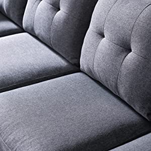 74eaf529 d127 4f51 b83e dd5ab013220b.  CR0,0,1600,1600 PT0 SX300 V1    - HONBAY Reversible Sectional Sofa Couch for Living Room L-Shape Sofa Couch 4-seat Sofas Sectional for Apartment Dark Grey