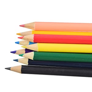 90f5bc95 bd70 4d08 ac56 edeaf4931b27.  CR0,0,1300,1300 PT0 SX300 V1    - Sunnyglade 185 Pieces Double Sided Trifold Easel Art Set, Drawing Art Box with Oil Pastels, Crayons, Colored Pencils, Markers, Paint Brush, Watercolor Cakes, Sketch Pad