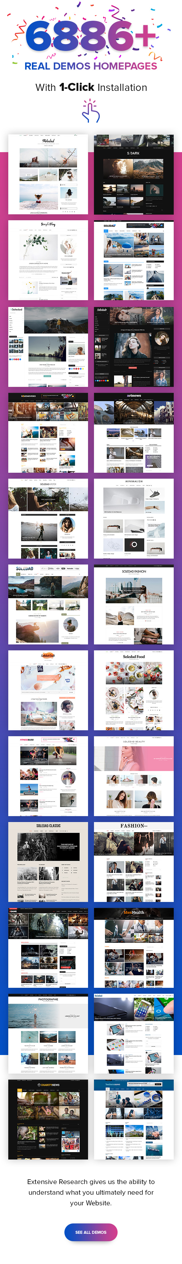 B1 6886Demos - Soledad - Multi-Concept Blog Magazine WordPress Theme