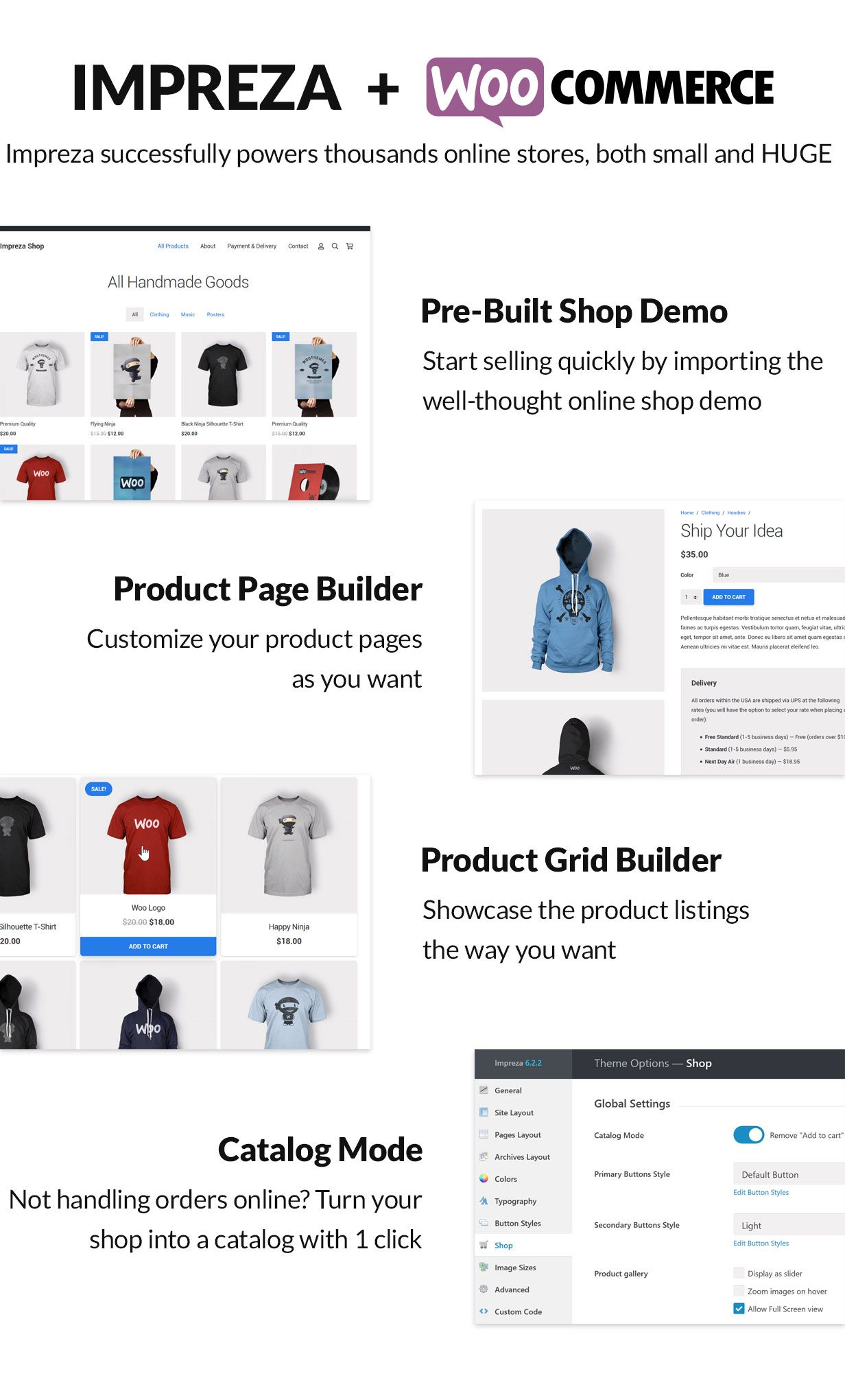 ECOMMERCE - Impreza – Multi-Purpose WordPress Theme