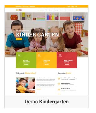 Education WordPress theme Demo Kinder garten - Education WordPress Theme | Eduma