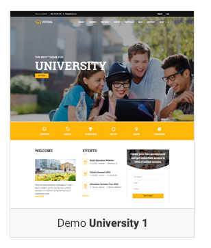 Education WordPress theme Demo University 1 - Education WordPress Theme | Eduma