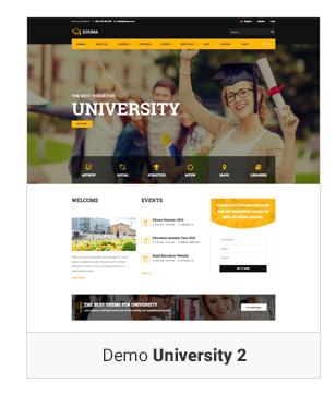 Education WordPress theme Demo University v2 - Education WordPress Theme | Eduma