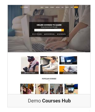 Education WordPress theme Demo course hub - Education WordPress Theme | Eduma