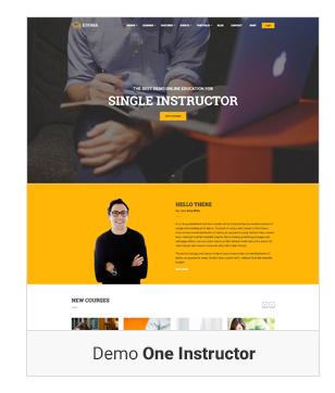 Education WordPress theme Demo one instructor - Education WordPress Theme | Eduma
