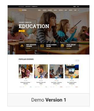Education WordPress theme Demo v1 - Education WordPress Theme | Eduma
