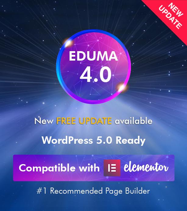 New update Eduma - Education WordPress Theme | Eduma