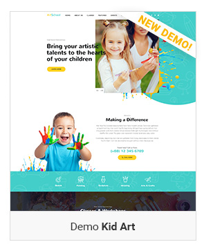 Right Demo Kid art - Education WordPress Theme | Eduma