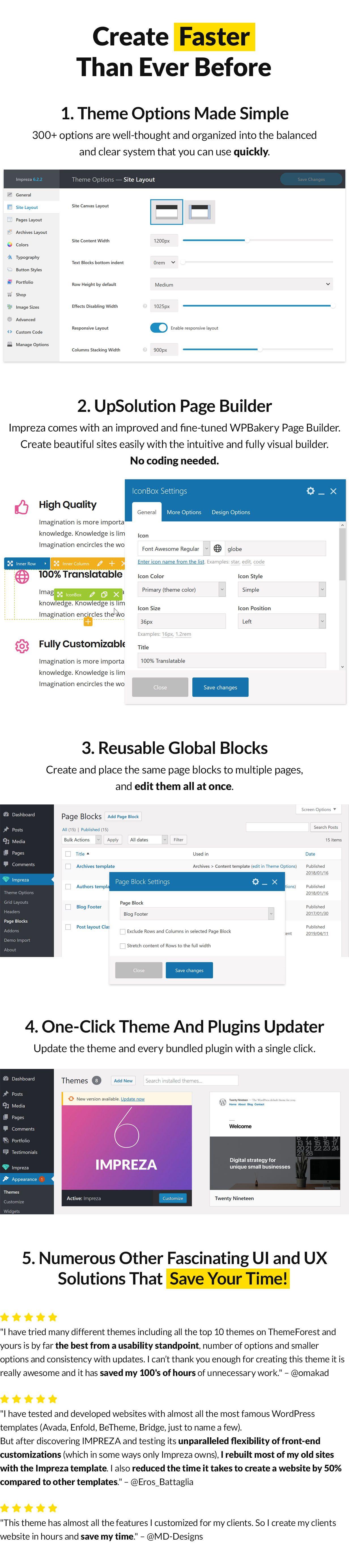 USABILITY - Impreza – Multi-Purpose WordPress Theme