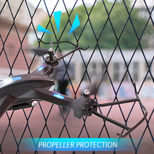 a9dbad03 08e1 4b29 a70f 4f9b2efcf1f6. CR0,0,300,300 PT0 SX300   - SNAPTAIN S5C WiFi FPV Drone with 720P HD Camera,Voice Control, Wide-Angle Live Video RC Quadcopter with Altitude Hold, Gravity Sensor Function, RTF One Key Take Off/Landing, Compatible w/VR Headset