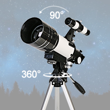 b6dccdb3 7661 40d7 997c 2b2680a56323.  CR0,0,220,220 PT0 SX220 V1    - ToyerBee Telescope for Kids& Beginners, 70mm Aperture 300mm Astronomical Refractor Telescope, Tripod& Finder Scope- Portable Travel Telescope with Smartphone Adapter and Wireless Remote