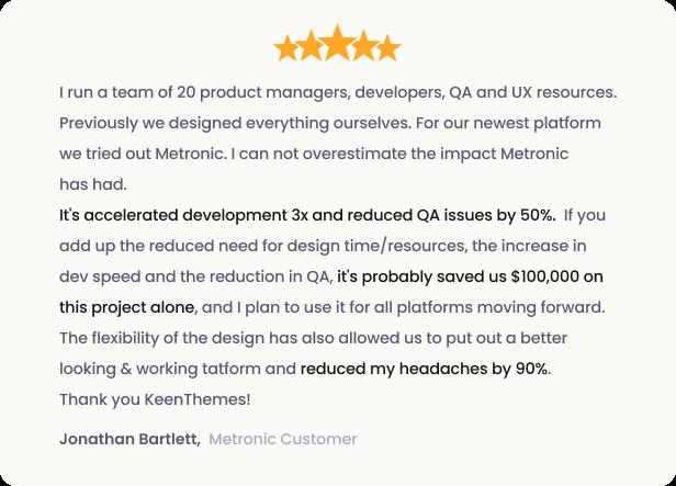banner review 1 4 - Metronic - Bootstrap 4 HTML, React, Angular 9, VueJS & Laravel Admin Dashboard Theme