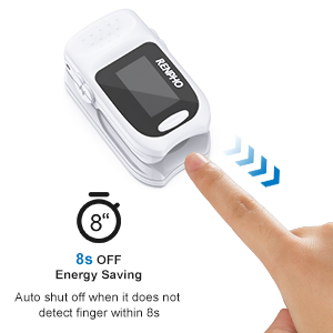 bcdcdbfd 816a 4c74 841a 3509d05d8998.  CR0,0,300,300 PT0 SX300 V1    - Pulse Oximeter Fingertip, RENPHO Accurate Reading Pediatric and Adult Oxygen Monitor Medical Use, Easy to Use Blood Oxygen Saturation Meter, Batteries and Lanyard, Spo2 Oximeter Portable with Alarm