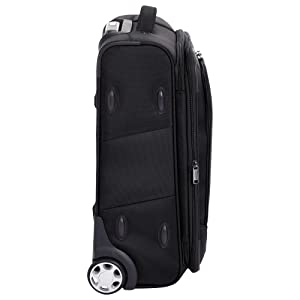 c7cd25ed 7779 45c9 a2fc dd9367c9fdc6. CR0,0,2000,2000 PT0 SX300   - AmazonBasics Upright Spinner Expandable Softside Suitcase Luggage with TSA Lock and Wheels