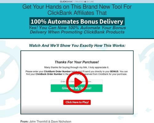 cbautomate x400 thumb - ClickBank Bonus Automator — ClickBank Bonus Automator