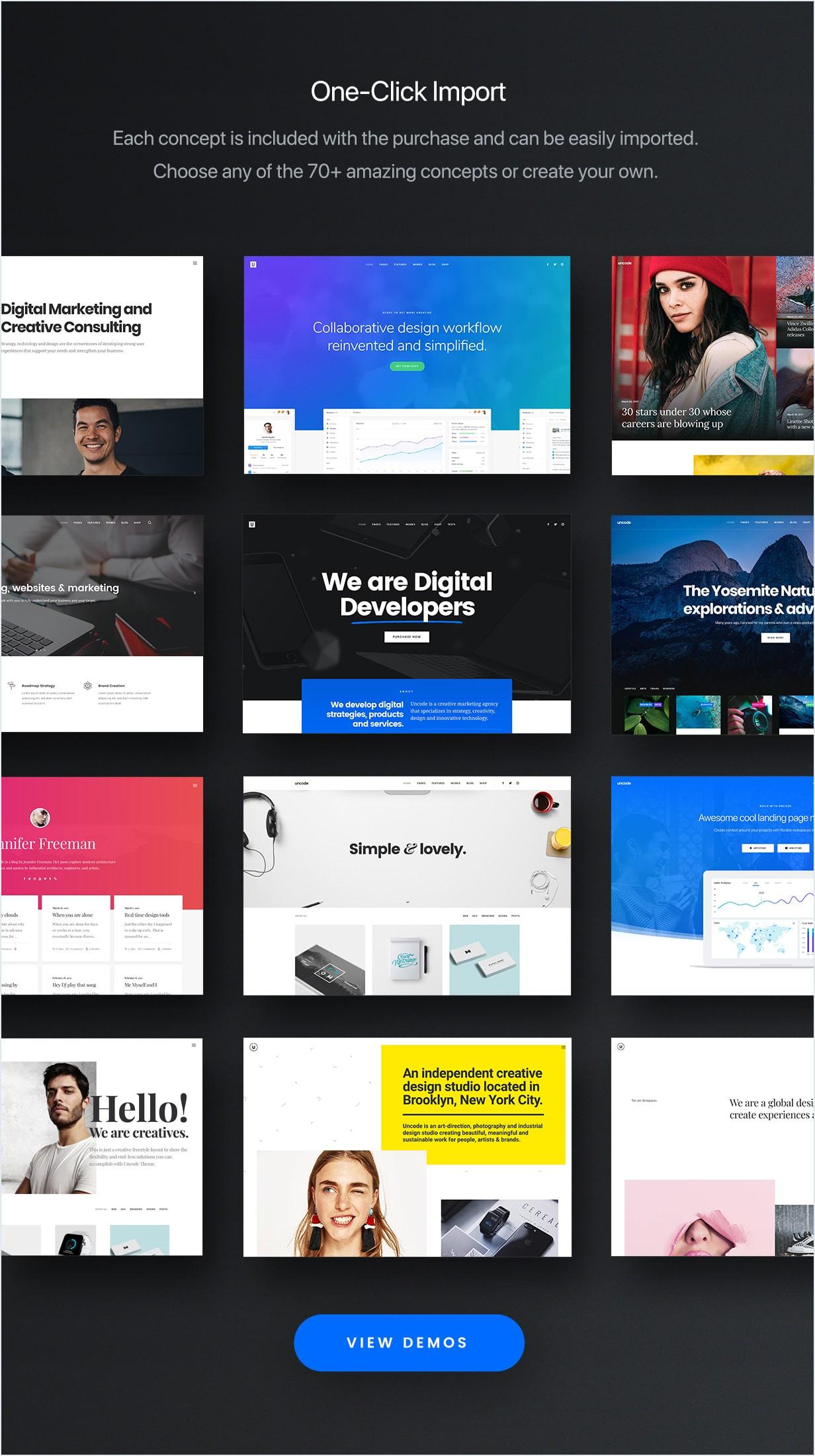 concepts min - Uncode - Creative Multiuse WordPress Theme