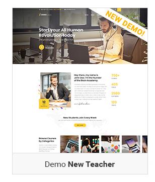 demo instructor - Education WordPress Theme | Eduma