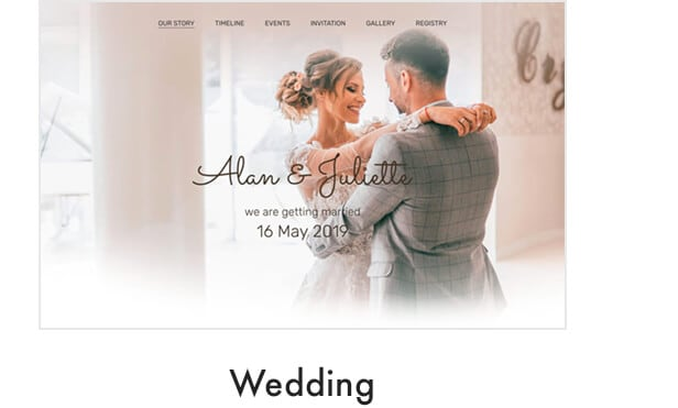 demo wedding - Kalium - Creative Theme for Professionals