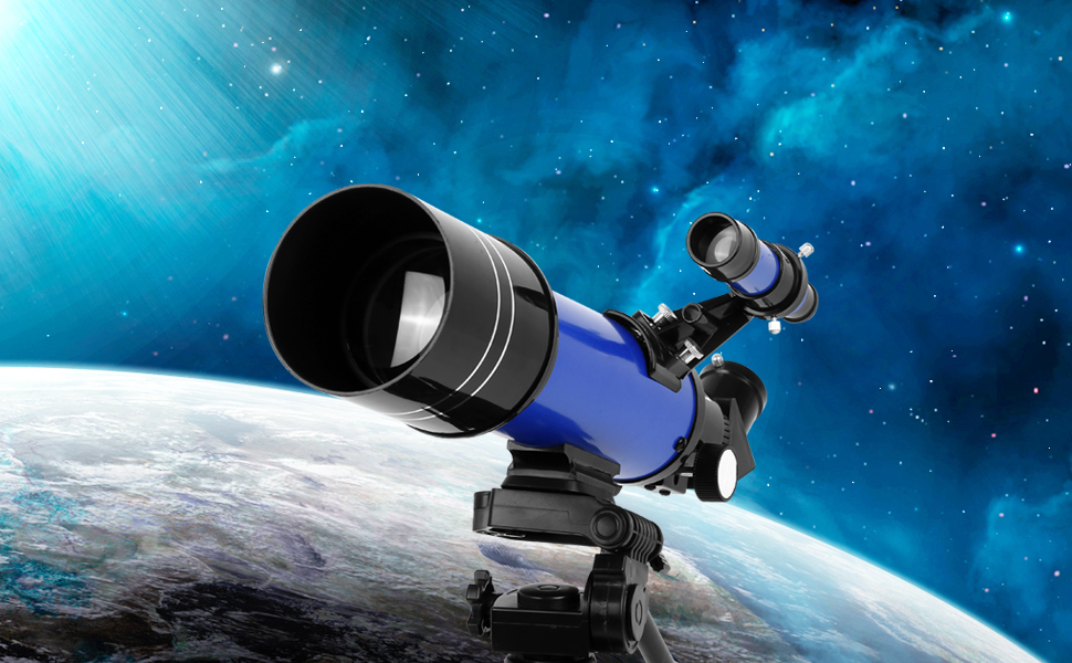 ebee095b da49 471c b362 1efb43f974e6. CR0,0,970,600 PT0 SX970   - TELMU Telescope, 70mm Aperture 400mm AZ Mount Astronomical Refracting Telescope Adjustable(17.7In-35.4In) Portable Travel Telescopes with Backpack, Phone Adapter