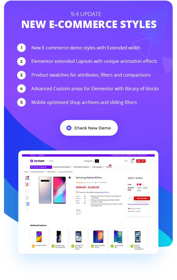 ecomnew - REHub - Price Comparison, Multi Vendor Marketplace, Affiliate Marketing, Community Theme