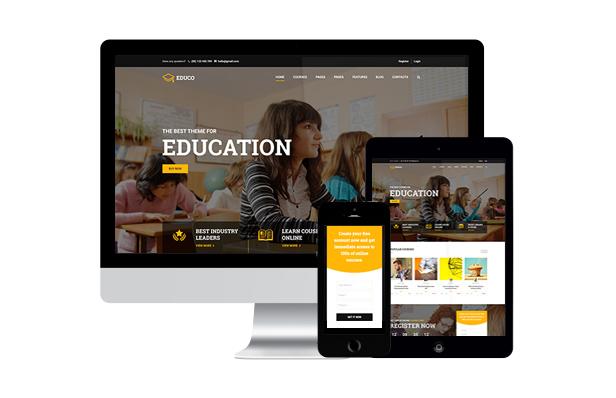 education wordpress theme mobile friendly - Education WordPress Theme | Eduma