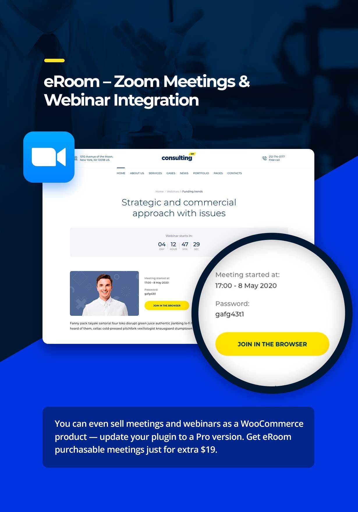 eroom - Consulting - Business, Finance WordPress Theme