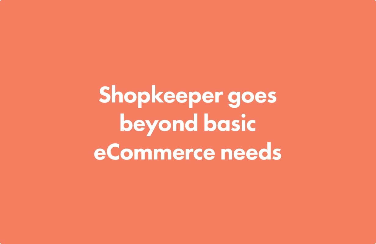extended features optimized - Shopkeeper - eCommerce WordPress Theme for WooCommerce