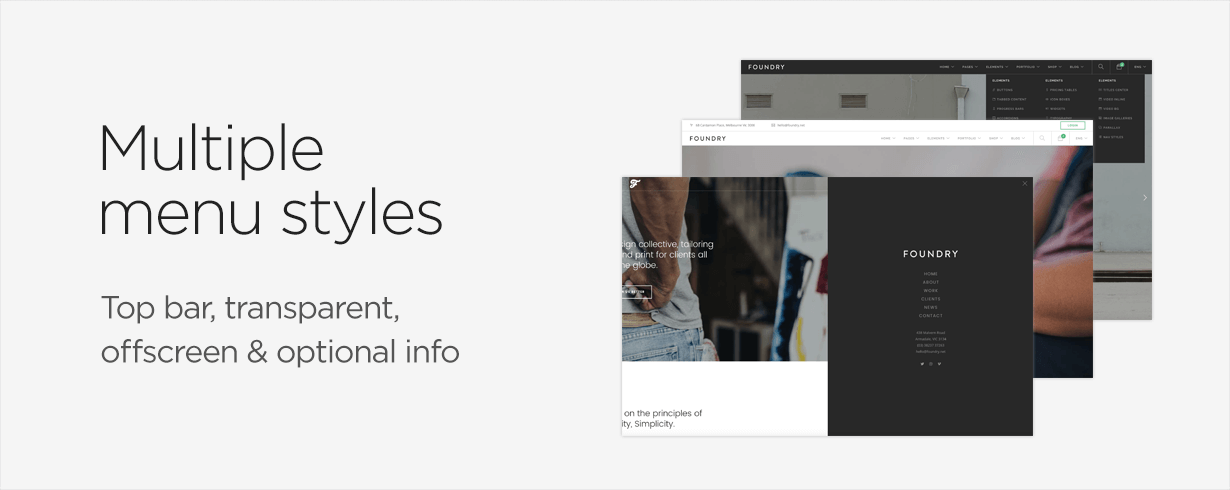 f promo4 - Foundry Multipurpose HTML + Variant Page Builder